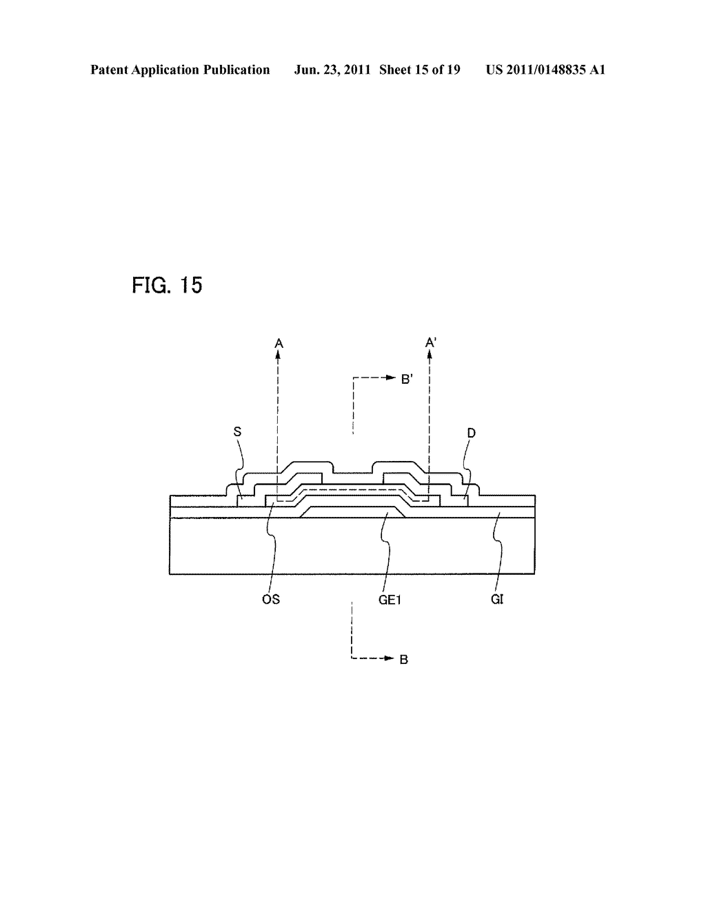 DISPLAY DEVICE INCLUDING OPTICAL SENSOR AND DRIVING METHOD THEREOF - diagram, schematic, and image 16