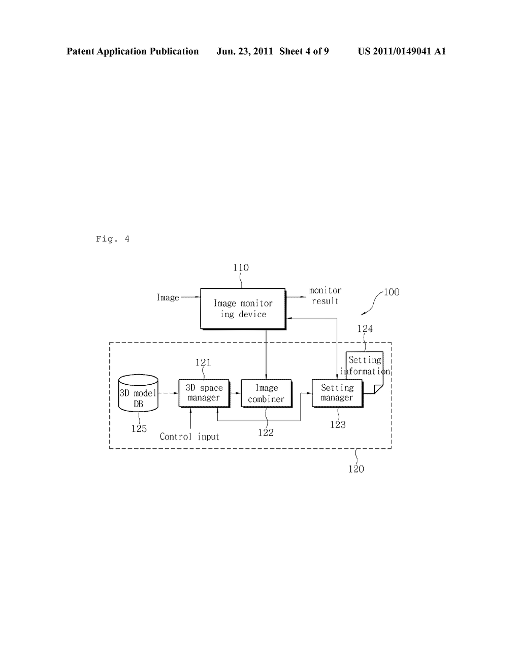 APPARATUS AND METHOD FOR CAMERA PARAMETER CALIBRATION - diagram, schematic, and image 05