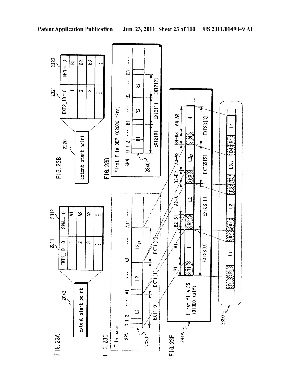 RECORDING MEDIUM, REPRODUCTION DEVICE, AND INTEGRATED CIRCUIT - diagram, schematic, and image 24