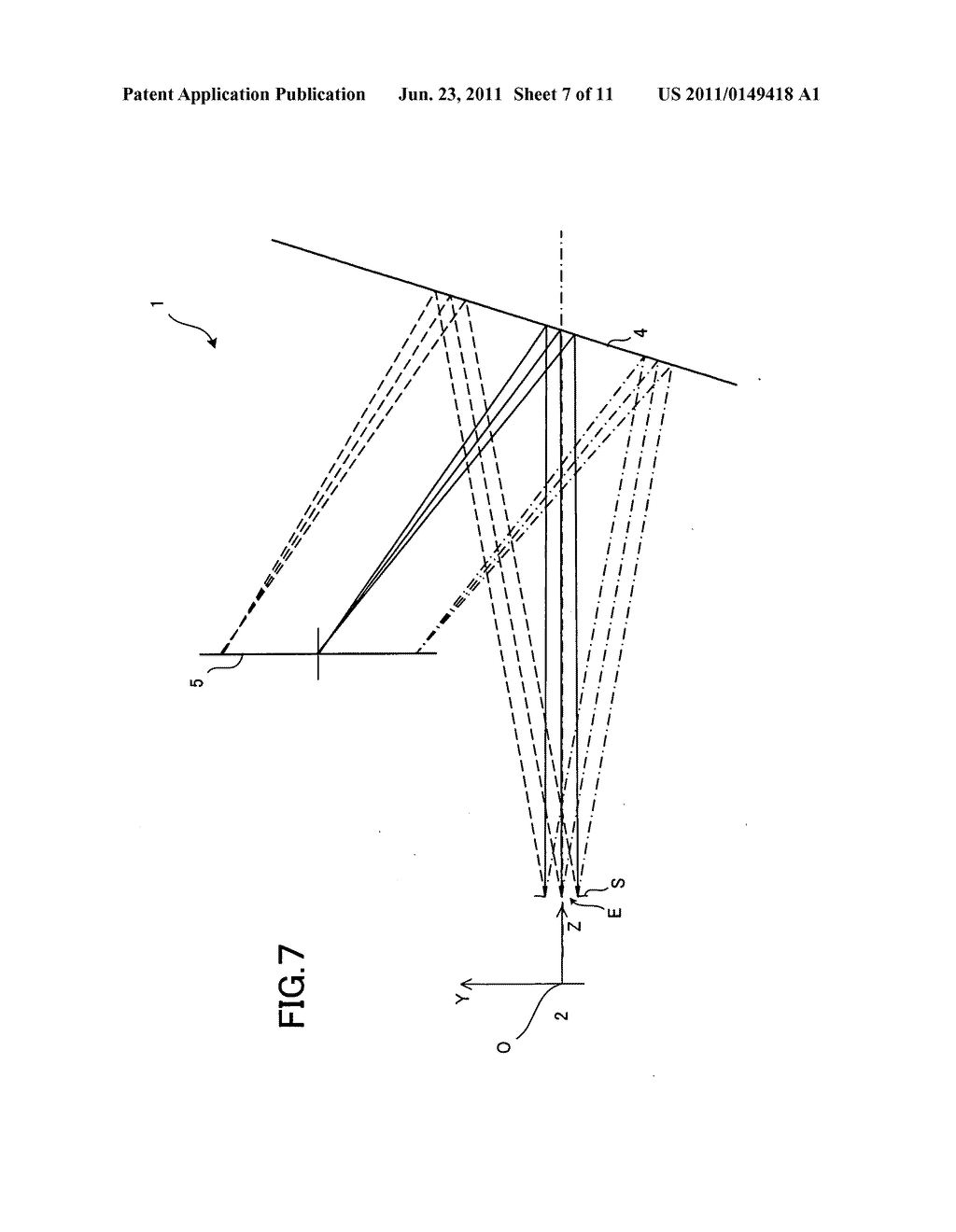 Fresnel optical element and optical system using the same - diagram, schematic, and image 08