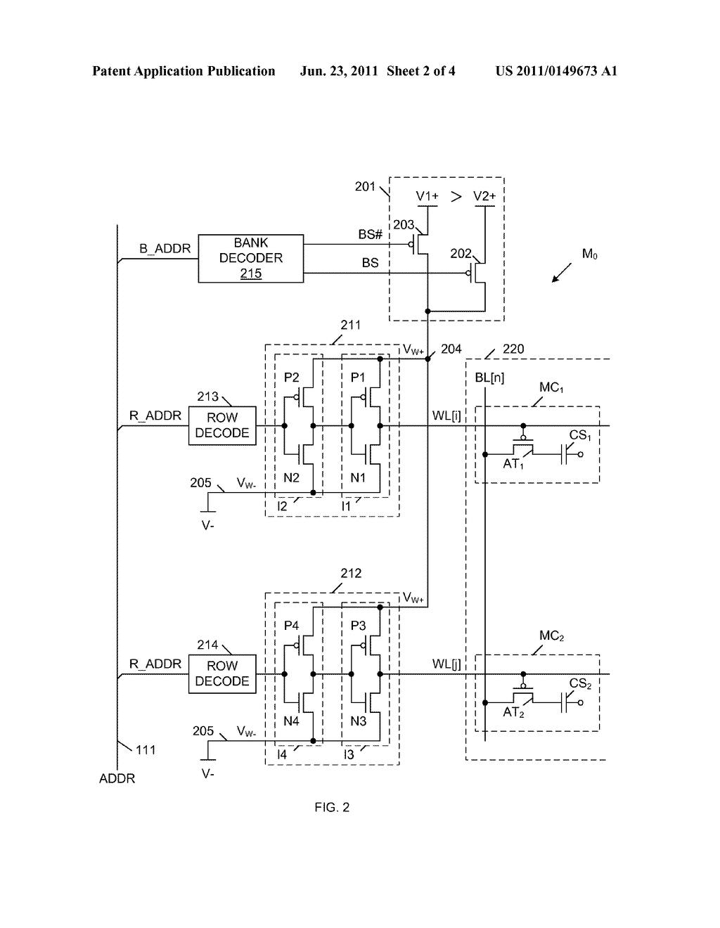 Three state word line driver fora dram memory device diagram three state word line driver fora dram memory device diagram schematic and image 03 ccuart Image collections