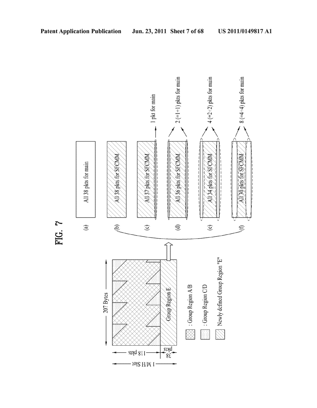 TRANSMITTING SYSTEM AND METHOD OF PROCESSING DIGITAL BROADCAST SIGNAL IN     TRANSMITTING SYSTEM, RECEIVING SYSTEM AND METHOD OF RECEIVING DIGITAL     BROADCAST SIGNAL IN RECEIVING SYSTEM - diagram, schematic, and image 08