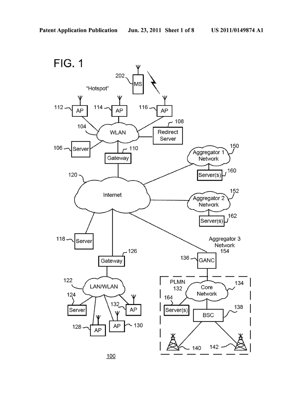 Methods And Apparatus For Use In Facilitating Access To Aggregator     Services For Mobile Communication Devices Via Wireless Communication     Networks - diagram, schematic, and image 02