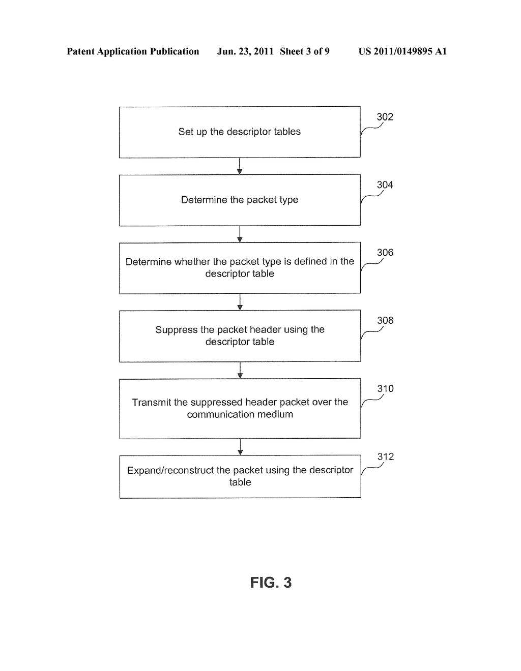 System for a Generalized Packet Header Suppression Mechanism Using a     Wireless Communications Medium - diagram, schematic, and image 04