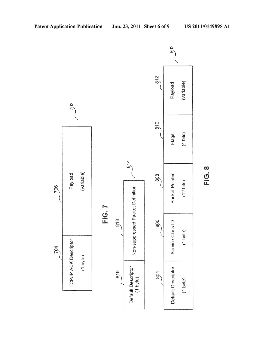 System for a Generalized Packet Header Suppression Mechanism Using a     Wireless Communications Medium - diagram, schematic, and image 07