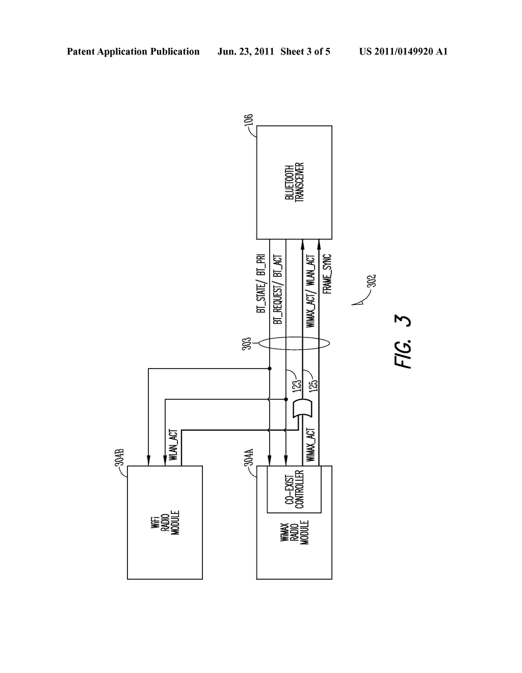 MULTI-RADIO PLATFORM AND METHOD FOR MITIGATING INTERFERENCE BETWEEN     CO-LOCATED RADIOS - diagram, schematic, and image 04