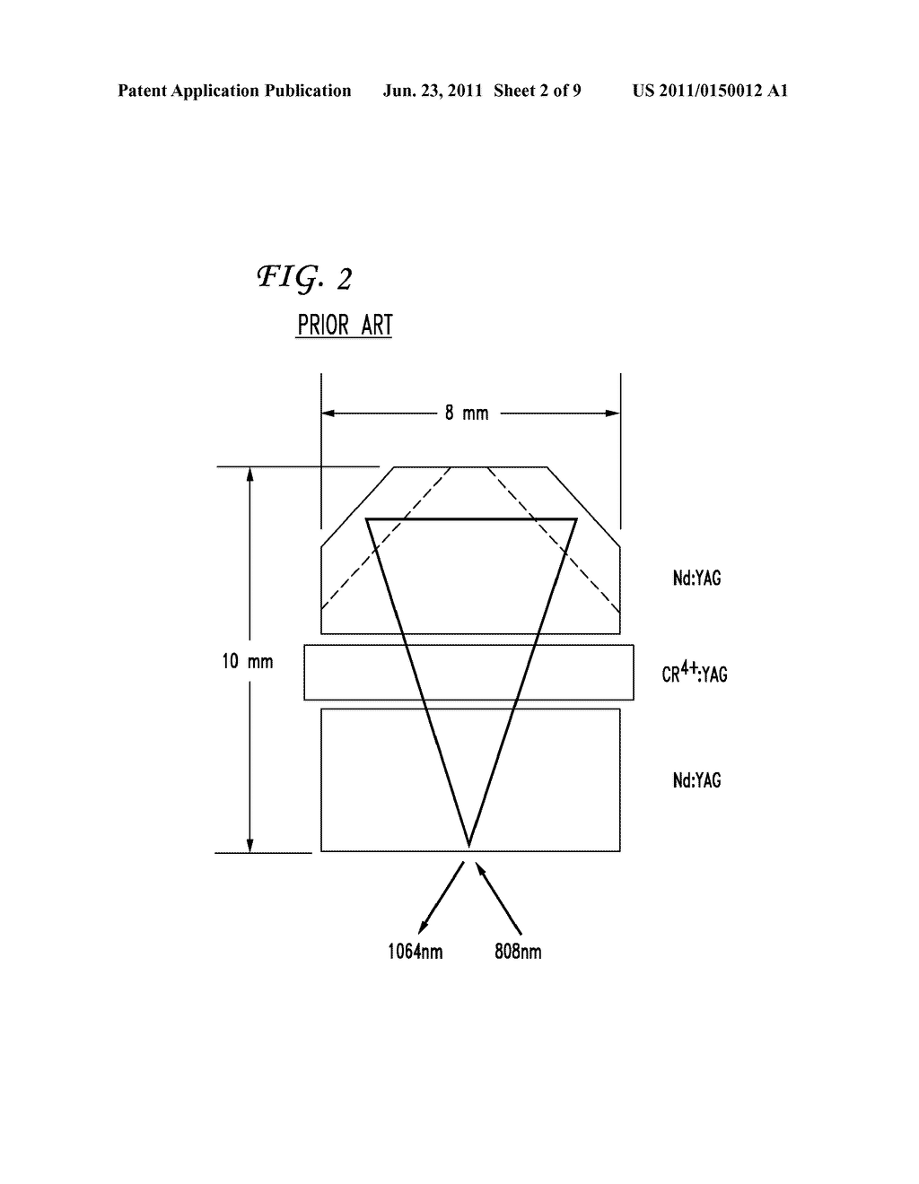 PASSIVELY Q-SWITCHED SIDE PUMPED MONOLITHIC RING LASER - diagram, schematic, and image 03