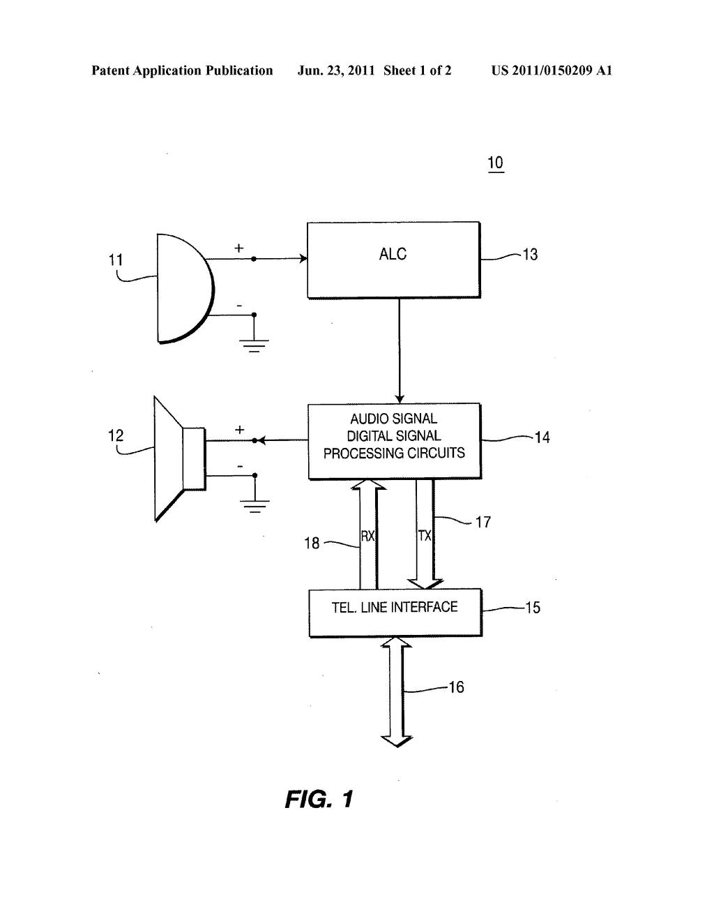 Digital Signal Control Diagram Trusted Wiring Diagrams Crystal Oscillator Signalprocessing Circuit Seekiccom Full Duplex Telephone System Employing Automatic Level For Audio Processor