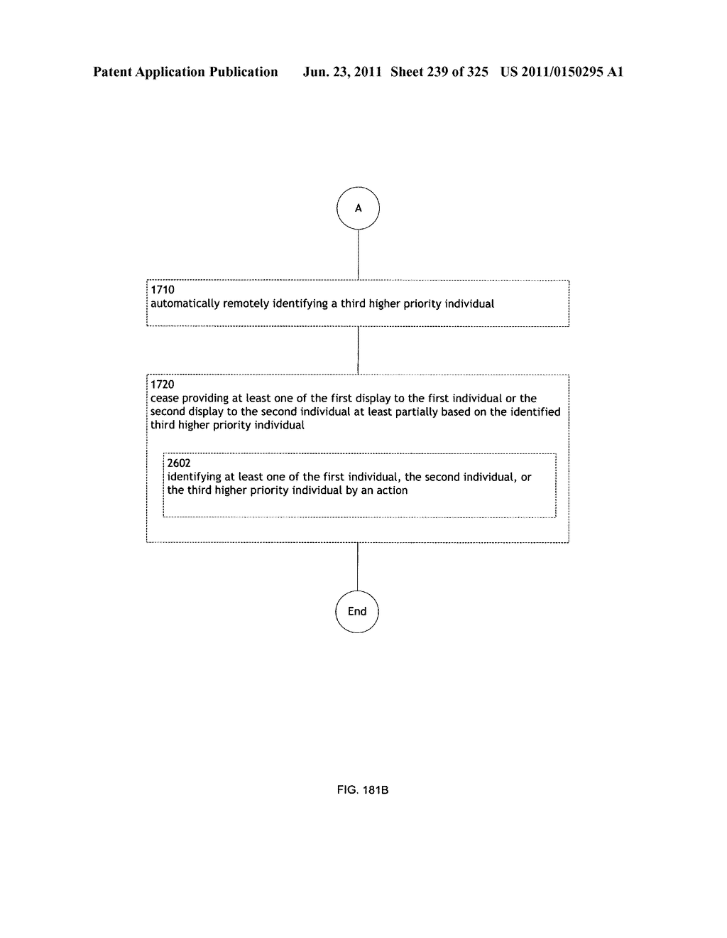 Identifying a characteristic of an individual utilizing facial recognition     and providing a display for the individual - diagram, schematic, and image 240
