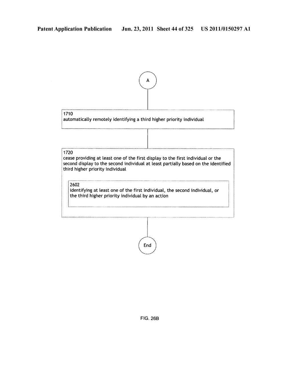 Identifying a characteristic of an individual utilizing facial recognition     and providing a display for the individual - diagram, schematic, and image 45