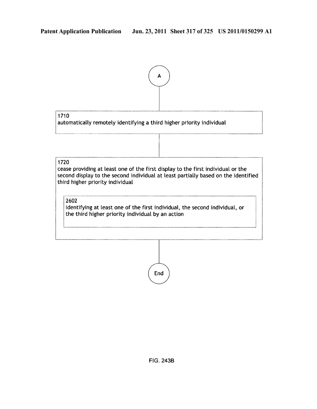 Identifying a characteristic of an individual utilizing facial recognition     and providing a display for the individual - diagram, schematic, and image 318