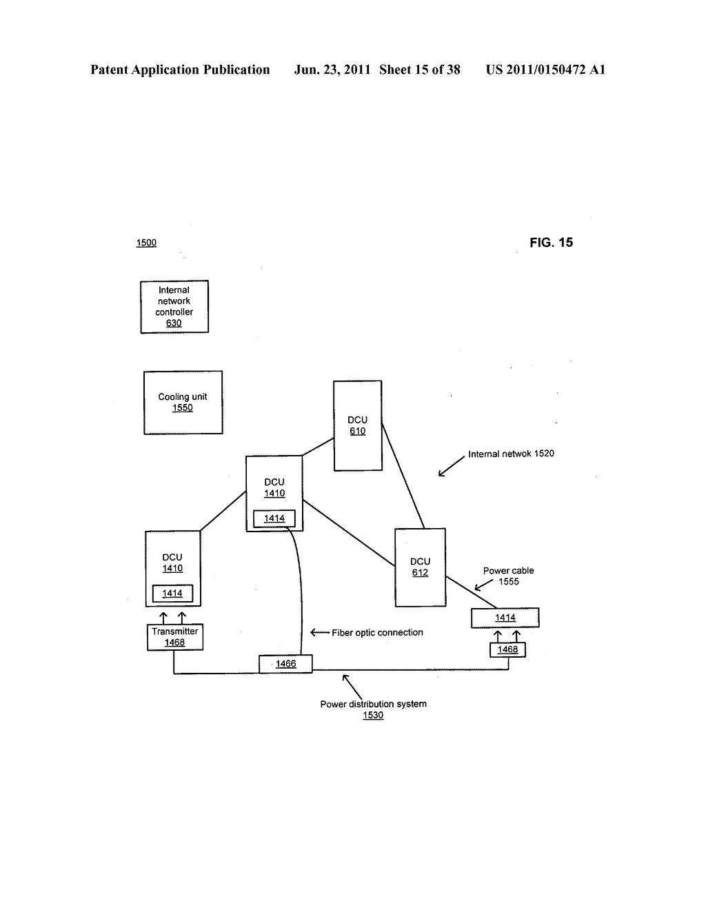 Data center with free-space optical communications - diagram, schematic, and image 16