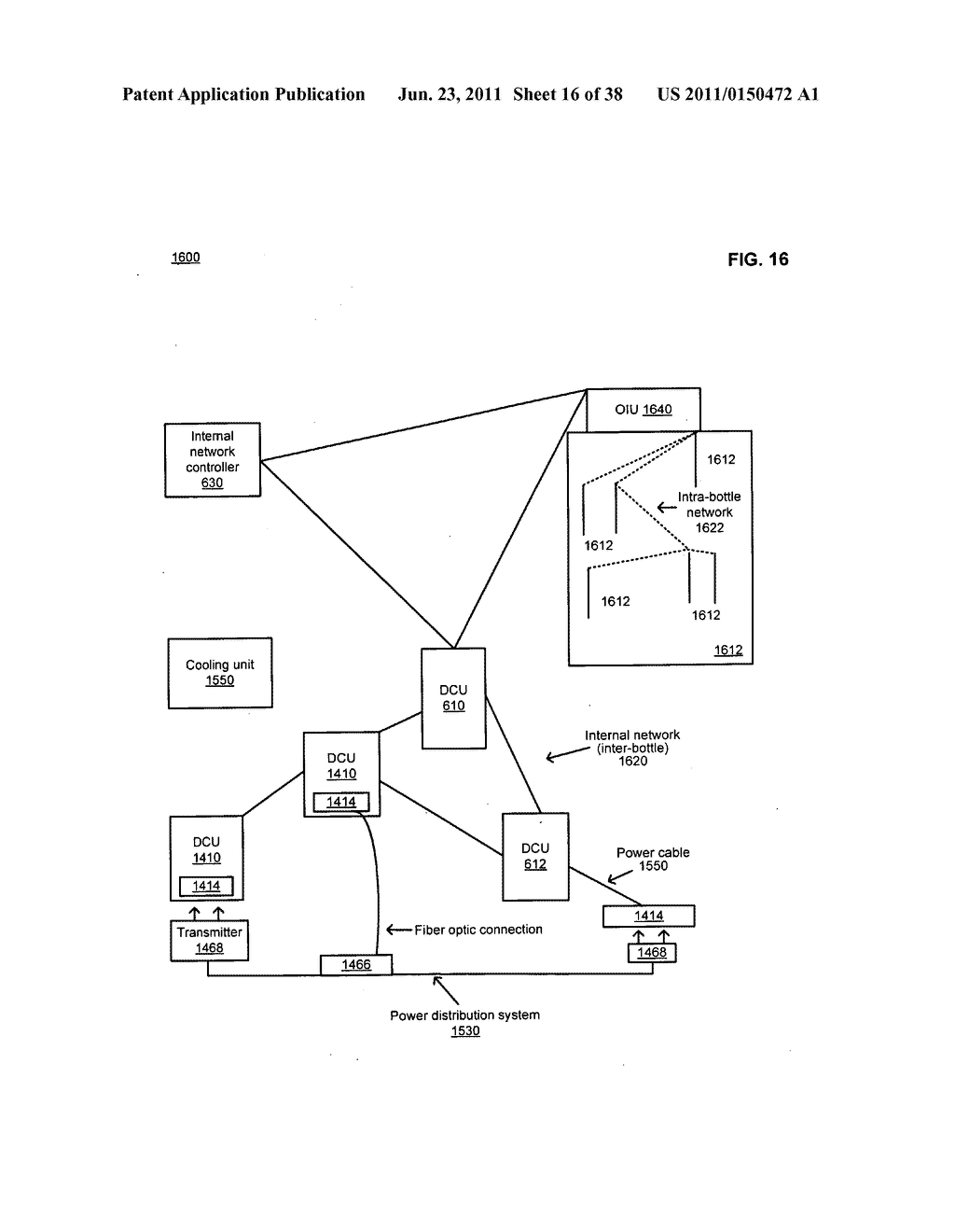 Data center with free-space optical communications - diagram, schematic, and image 17