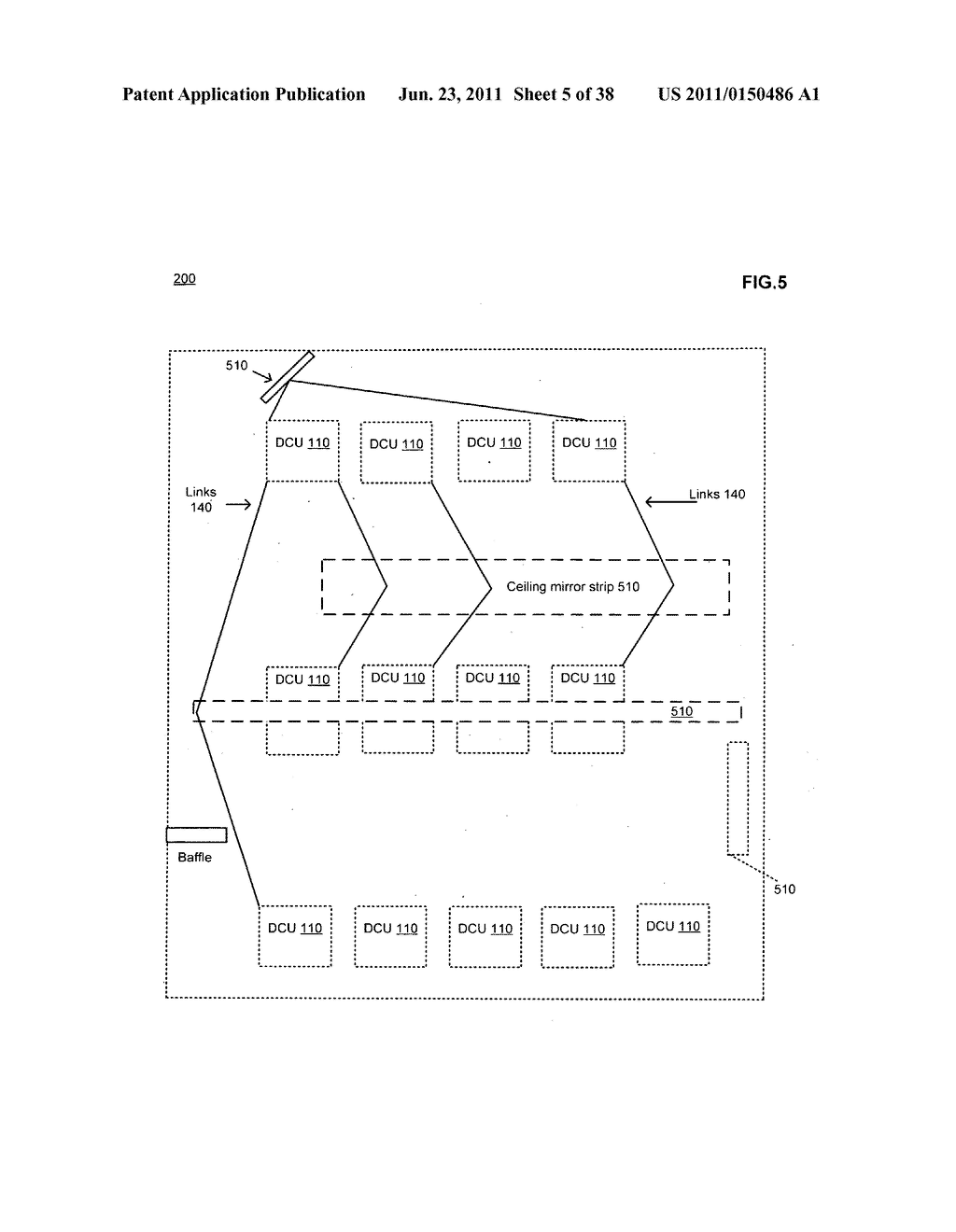 Data centerr with free-space optical communications - diagram, schematic, and image 06