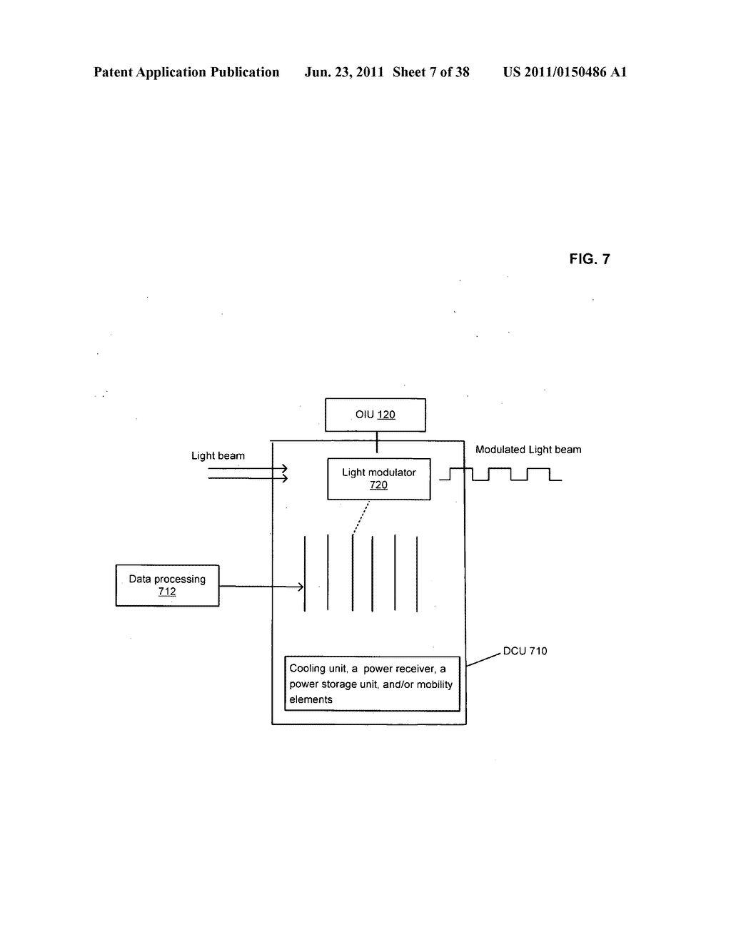 Data centerr with free-space optical communications - diagram, schematic, and image 08