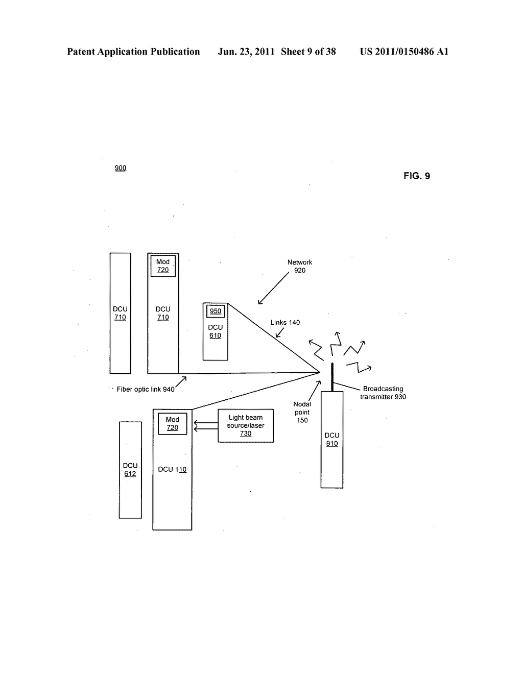 Data centerr with free-space optical communications - diagram, schematic, and image 10