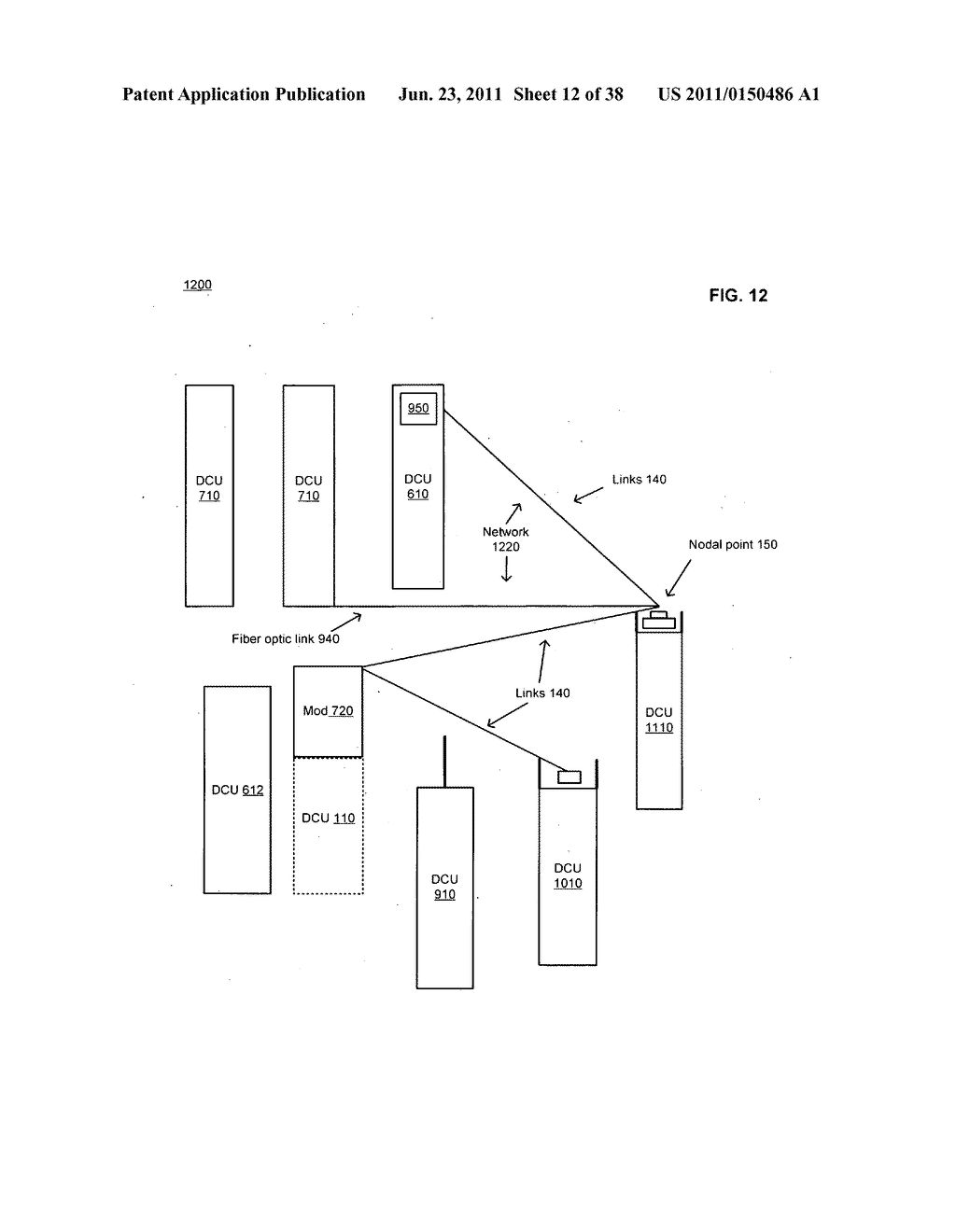Data centerr with free-space optical communications - diagram, schematic, and image 13