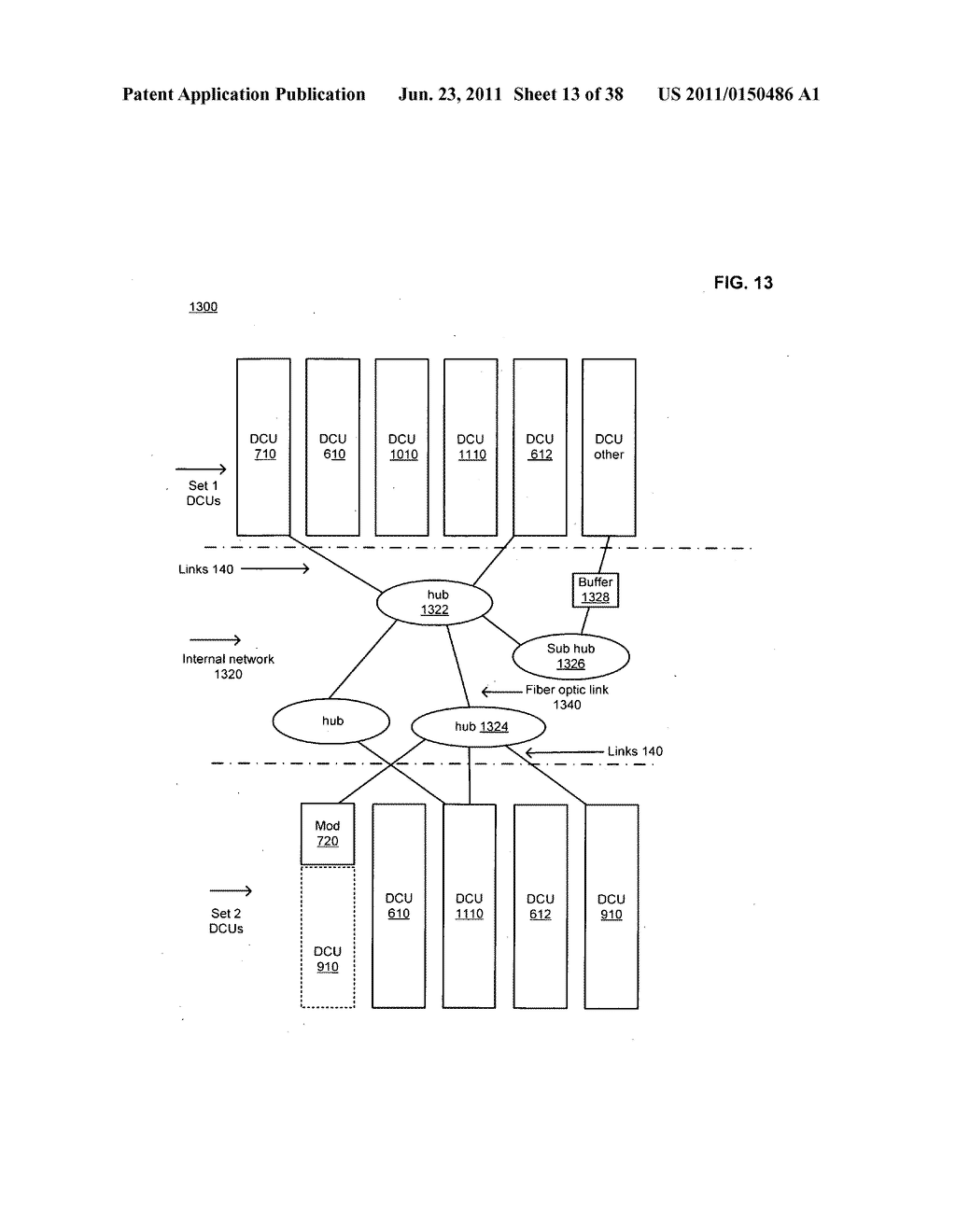 Data centerr with free-space optical communications - diagram, schematic, and image 14