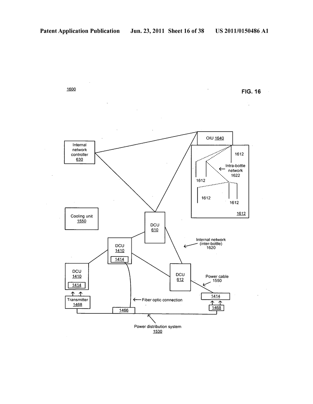 Data centerr with free-space optical communications - diagram, schematic, and image 17
