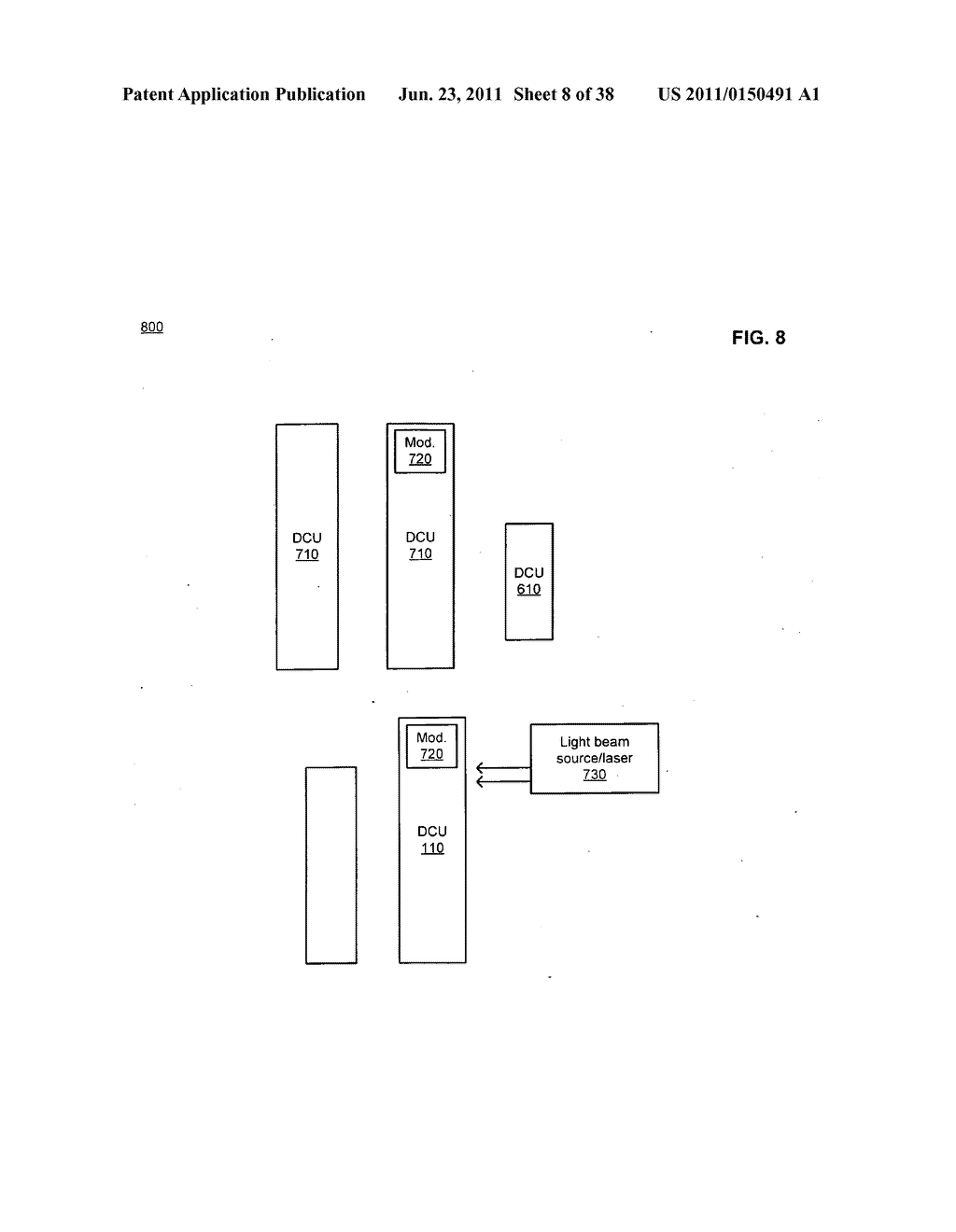Data center with free-space optical communications - diagram, schematic, and image 09