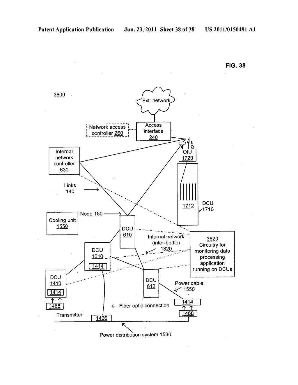 Data center with free-space optical communications - diagram, schematic, and image 39