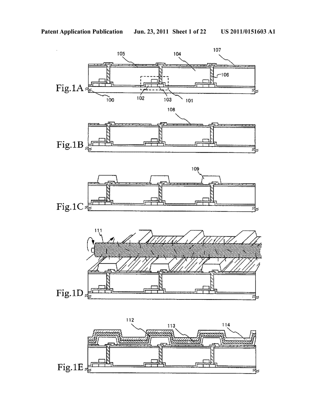 LIGHT EMITTING APPARATUS AND METHOD OF MANUFACTURING THE SAME - diagram, schematic, and image 02