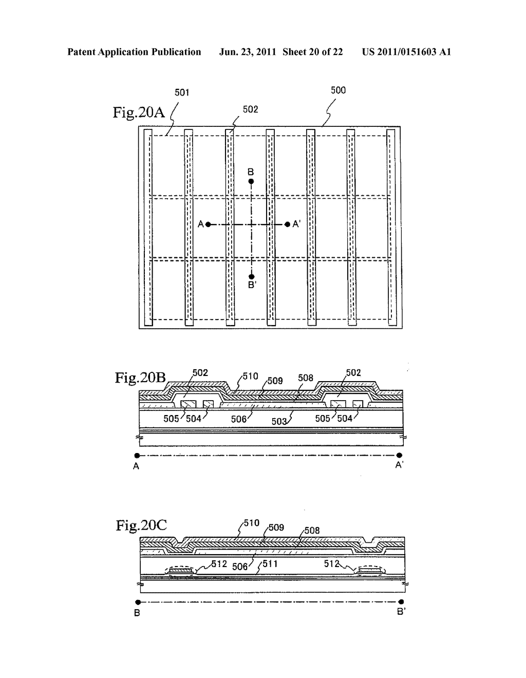 LIGHT EMITTING APPARATUS AND METHOD OF MANUFACTURING THE SAME - diagram, schematic, and image 21