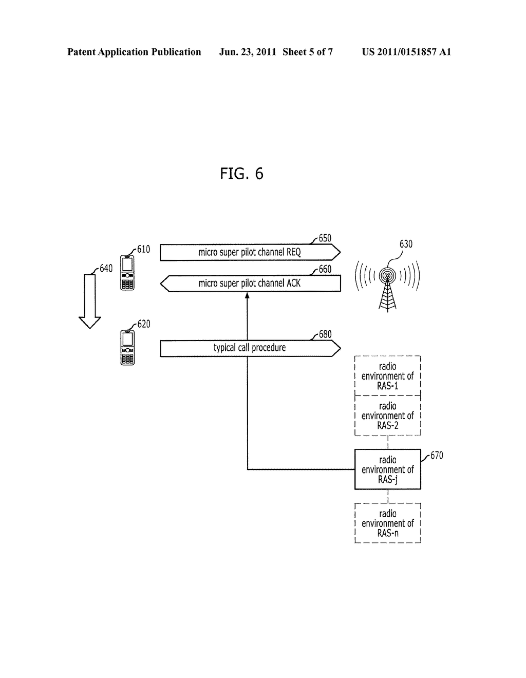 SYSTEM AND METHOD FOR RADIO ACCESS IN RECONFIGURABLE WIRELESS     COMMUNICATION SYSTEM - diagram, schematic, and image 06