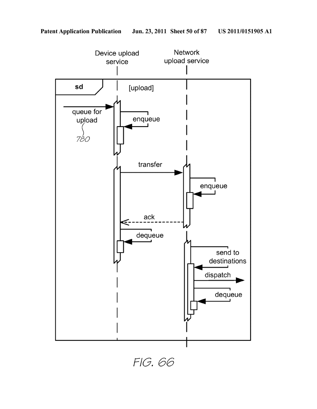 MESSAGING USING A CODED SURFACE - diagram, schematic, and image 51