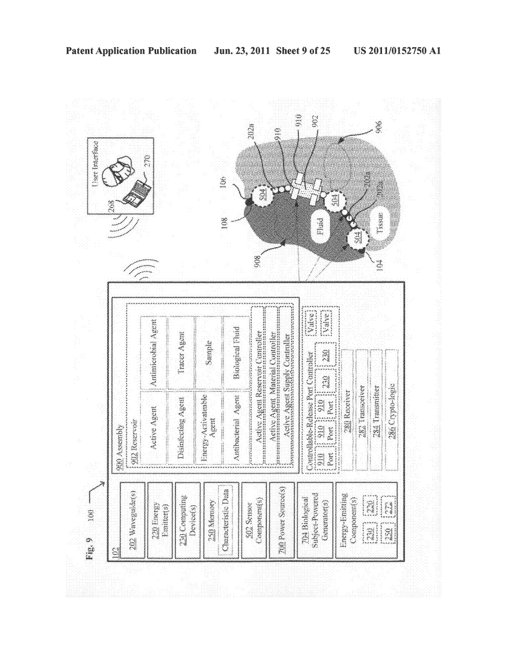 Systems devices, and methods including catheters configured to monitor and     inhibit biofilm formation - diagram, schematic, and image 10