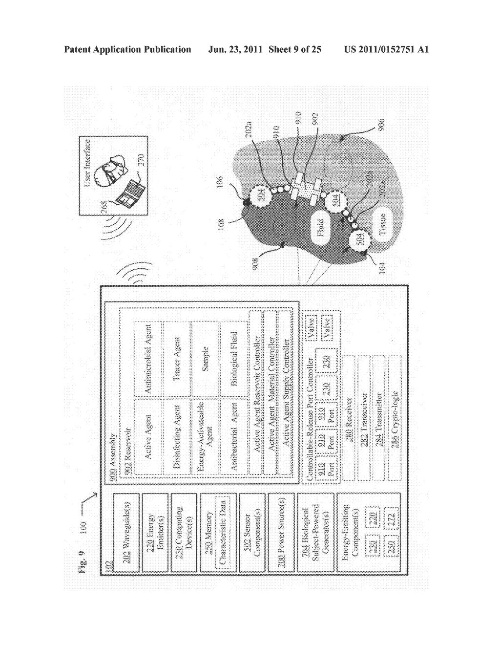 Systems, devices, and methods including catheters having UV-Energy     emitting coatings - diagram, schematic, and image 10