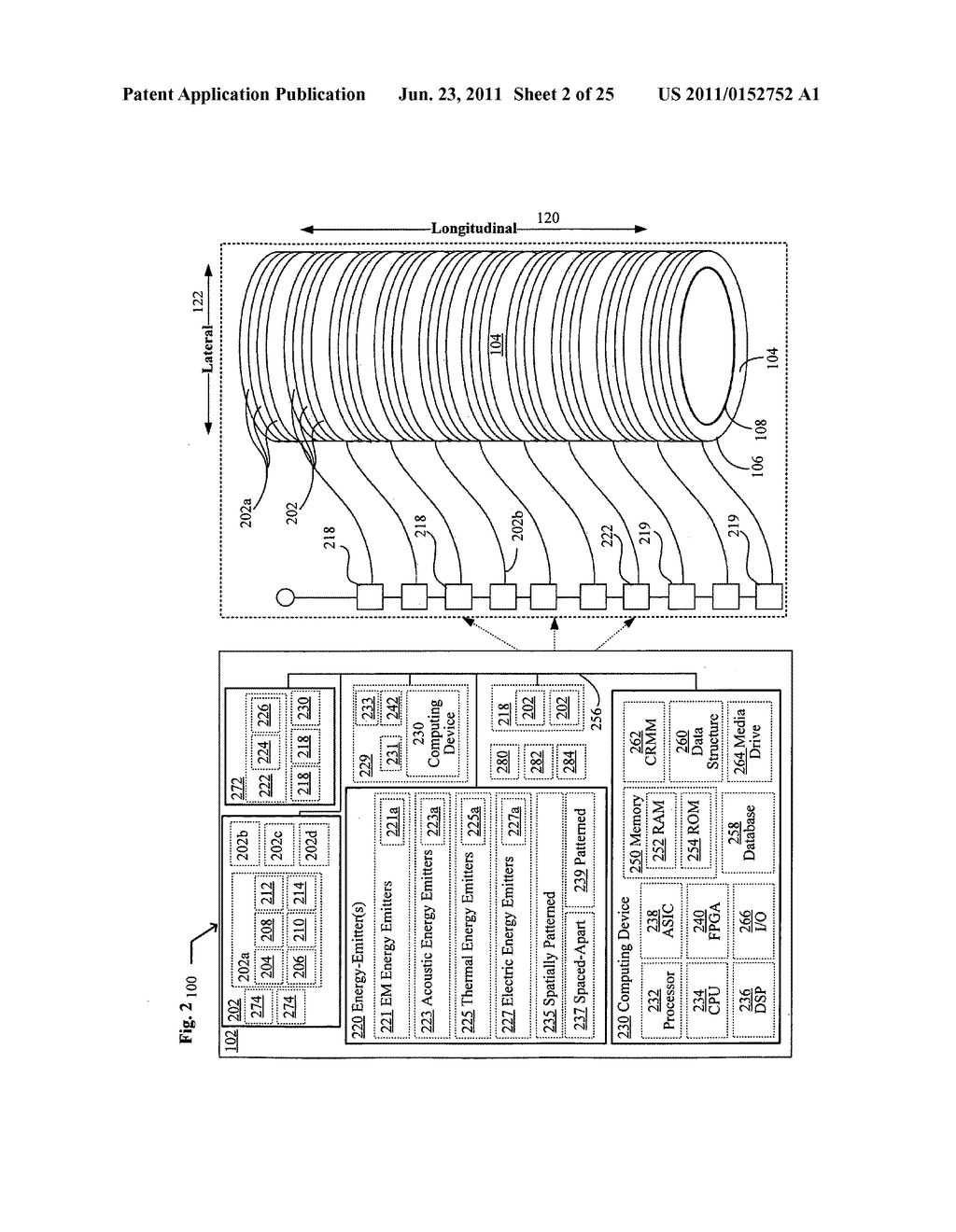 Systems, devices, and methods including catheters having components that     are actively controllable between transmissive and reflective states - diagram, schematic, and image 03
