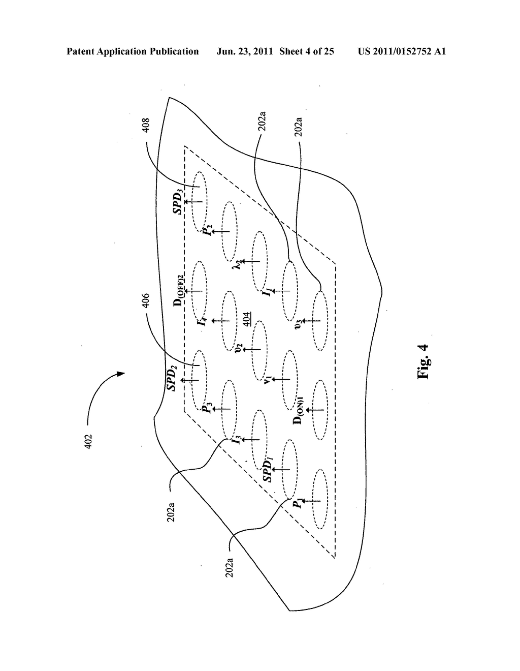 Systems, devices, and methods including catheters having components that     are actively controllable between transmissive and reflective states - diagram, schematic, and image 05