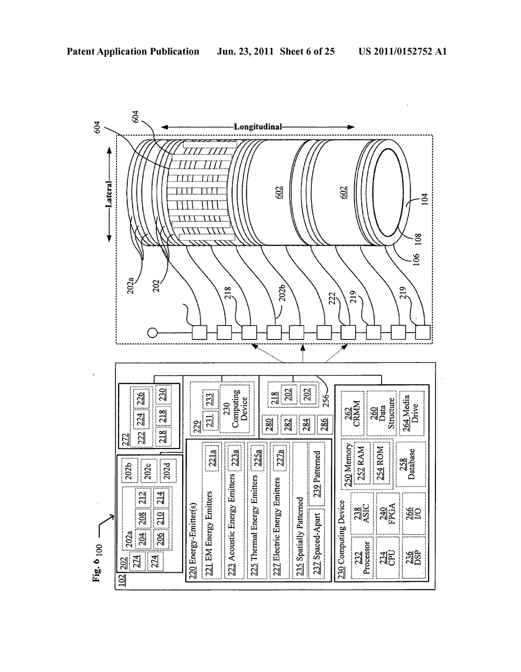 Systems, devices, and methods including catheters having components that     are actively controllable between transmissive and reflective states - diagram, schematic, and image 07