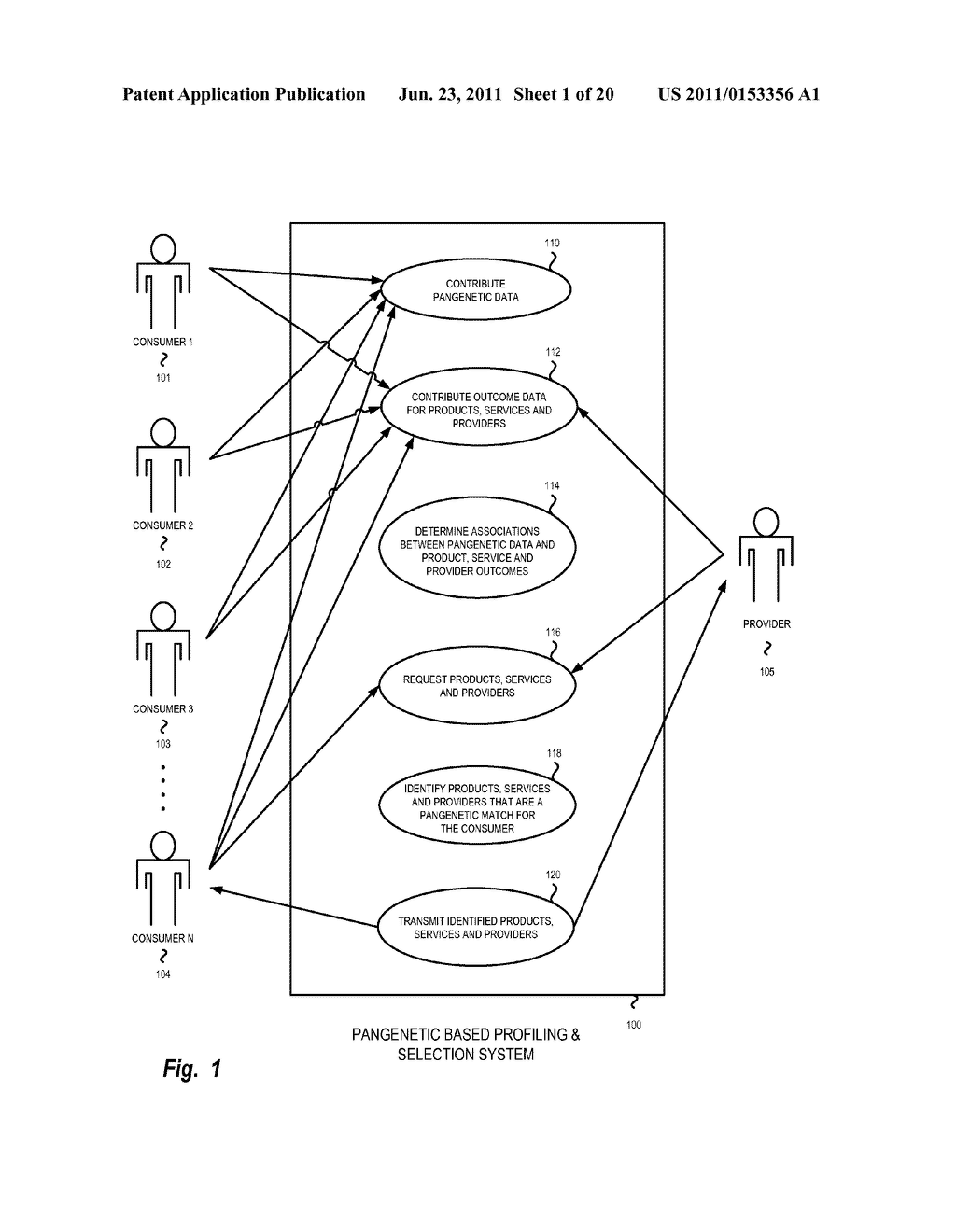 System, Method and Software for Healthcare Selection Based on Pangenetic     Data - diagram, schematic, and image 02