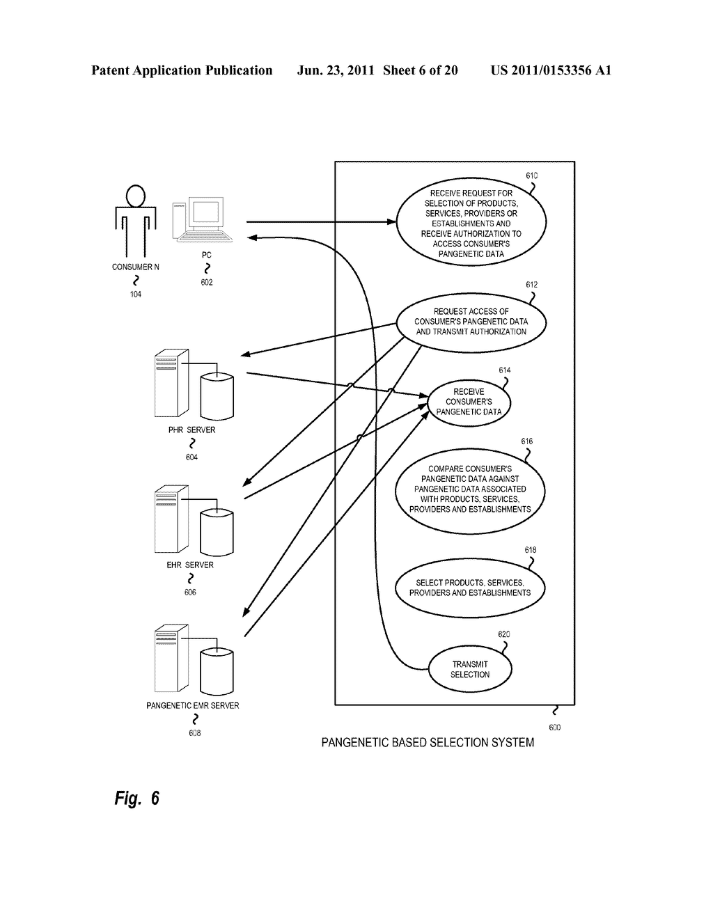 System, Method and Software for Healthcare Selection Based on Pangenetic     Data - diagram, schematic, and image 07