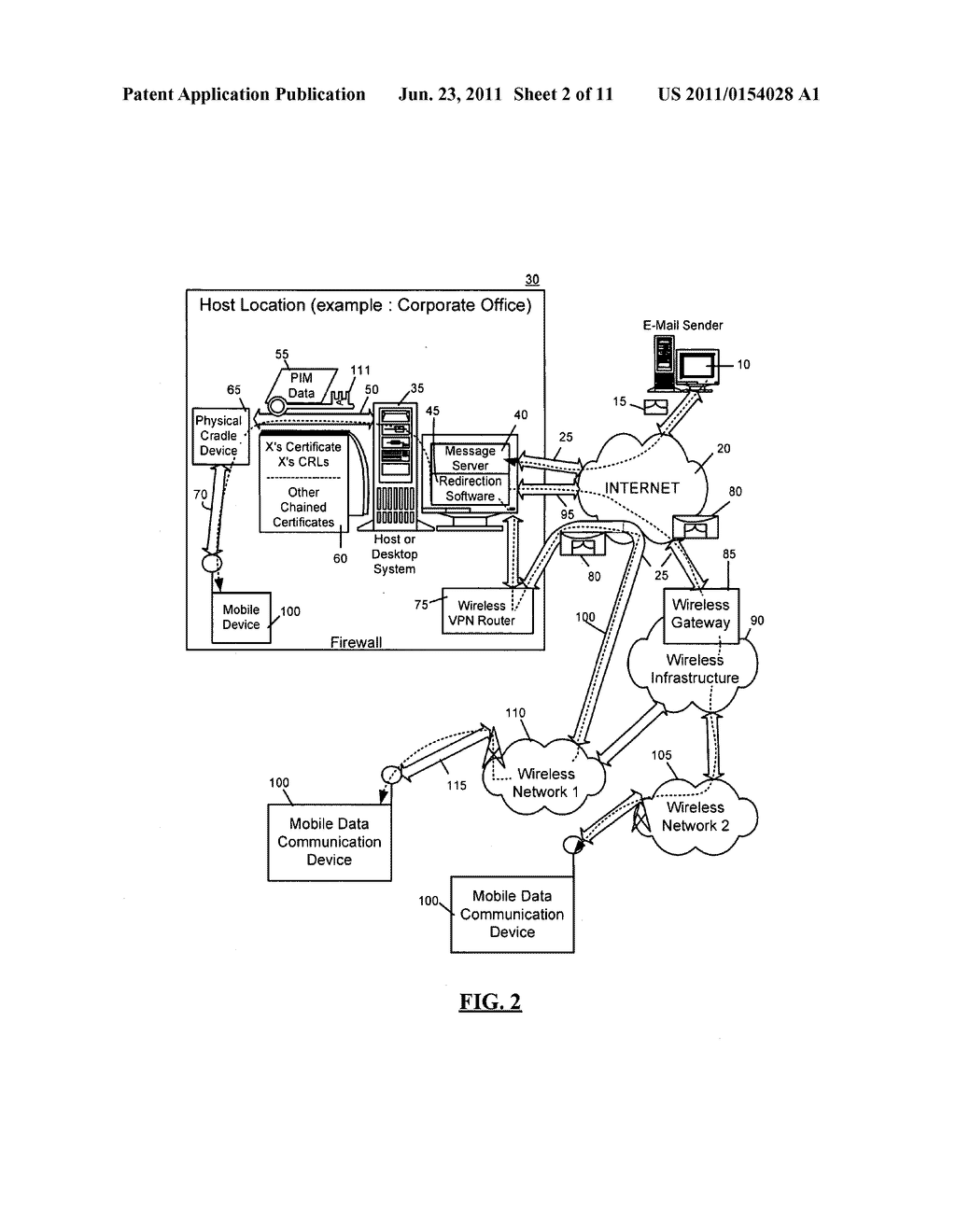 SYSTEM AND METHOD FOR ADMINISTERING DIGITAL CERTIFICATE CHECKING - diagram, schematic, and image 03