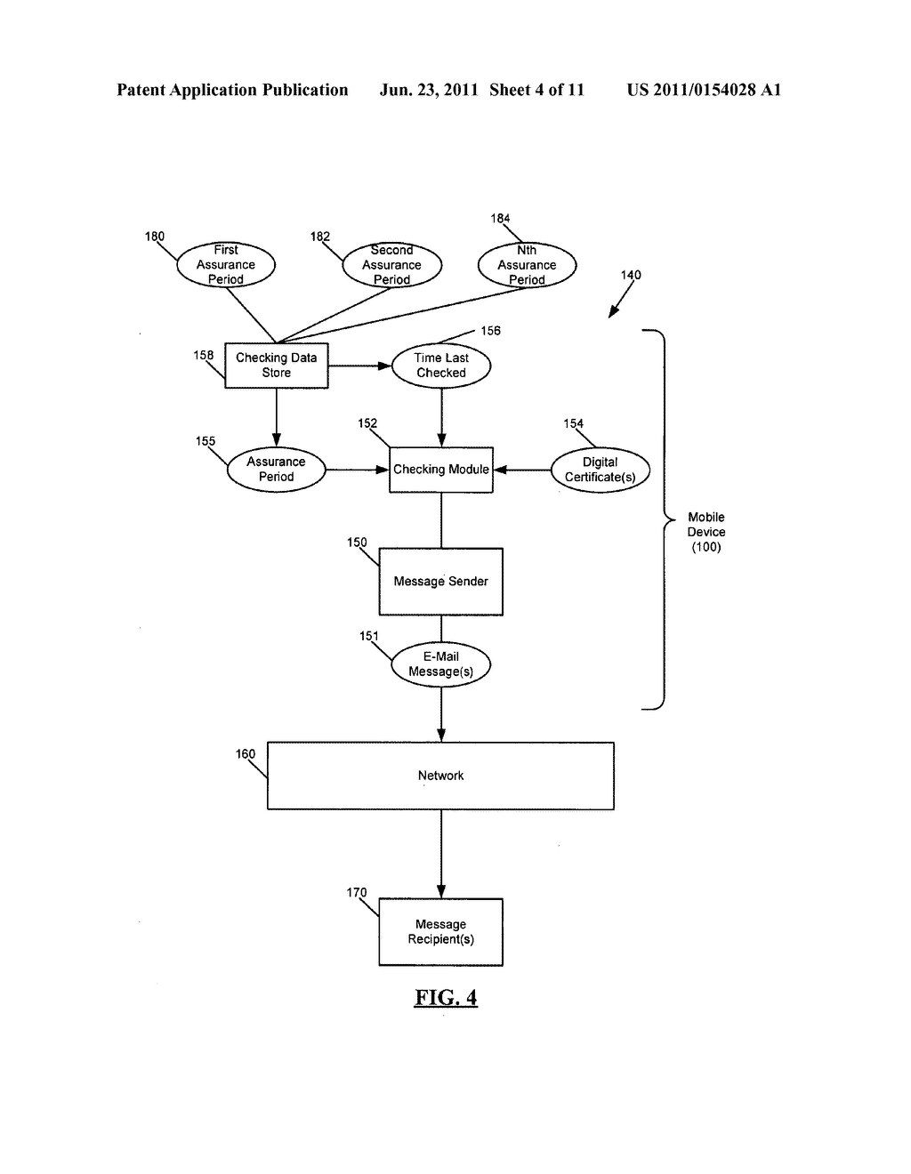 SYSTEM AND METHOD FOR ADMINISTERING DIGITAL CERTIFICATE CHECKING - diagram, schematic, and image 05