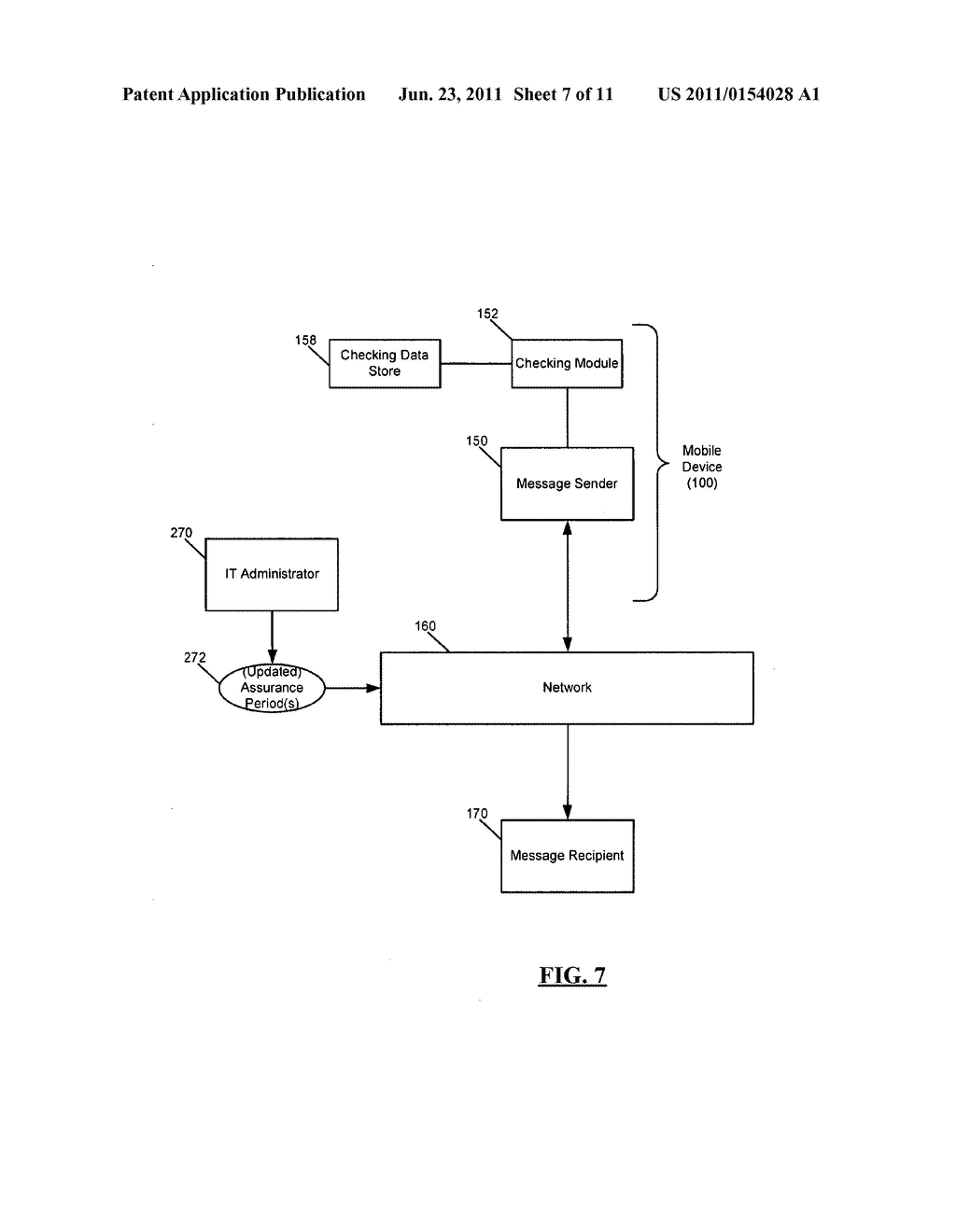 SYSTEM AND METHOD FOR ADMINISTERING DIGITAL CERTIFICATE CHECKING - diagram, schematic, and image 08