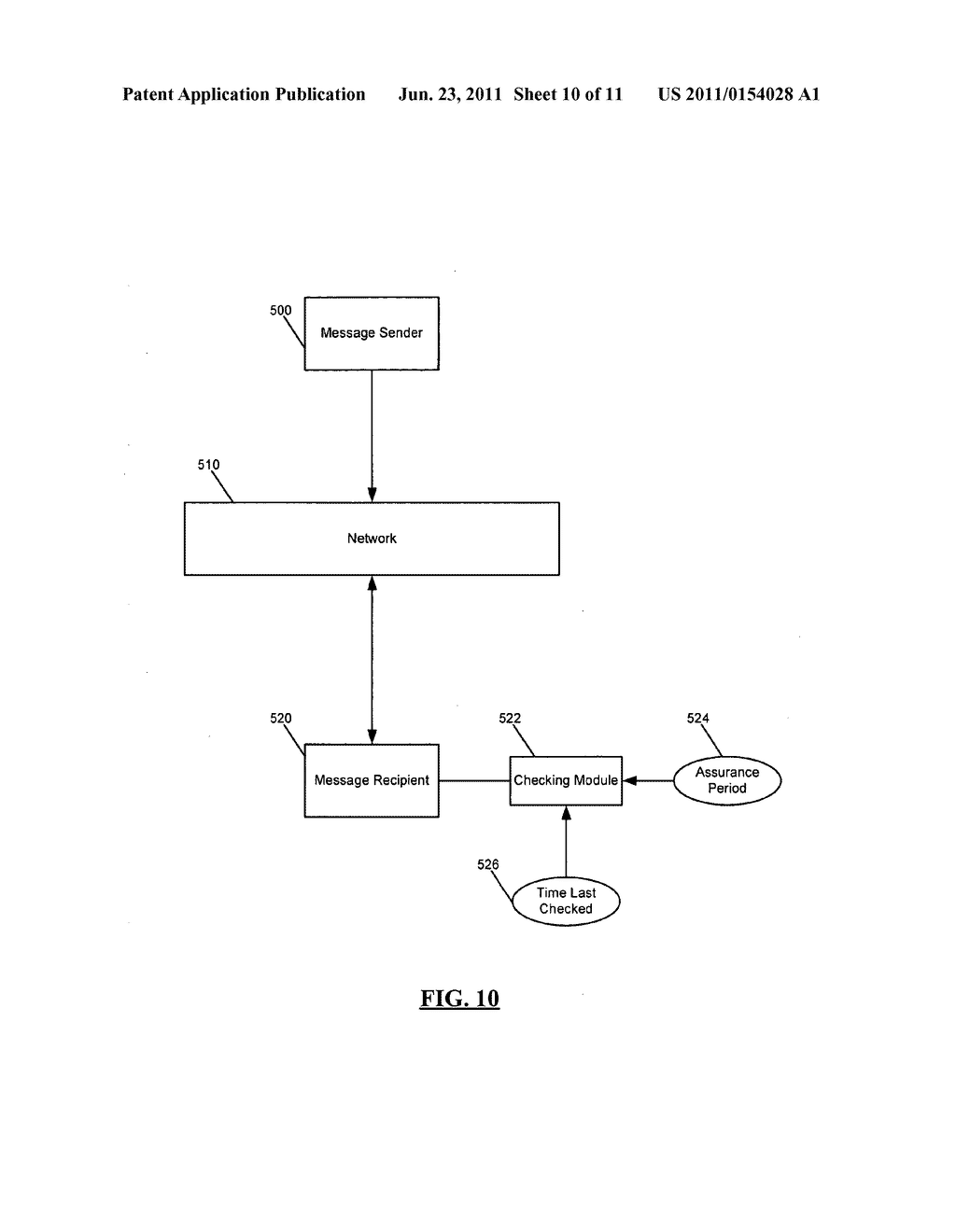 SYSTEM AND METHOD FOR ADMINISTERING DIGITAL CERTIFICATE CHECKING - diagram, schematic, and image 11
