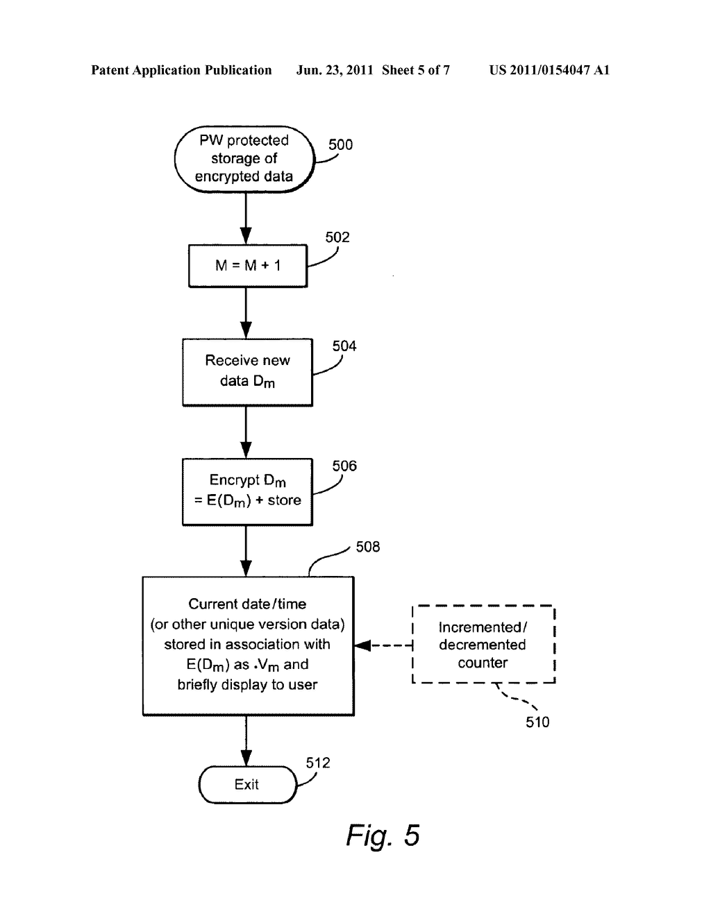 USER-DEFINED PASSWORDS HAVING ASSOCIATED UNIQUE VERSION DATA TO ASSIST     USER RECALL OF THE PASSWORD - diagram, schematic, and image 06