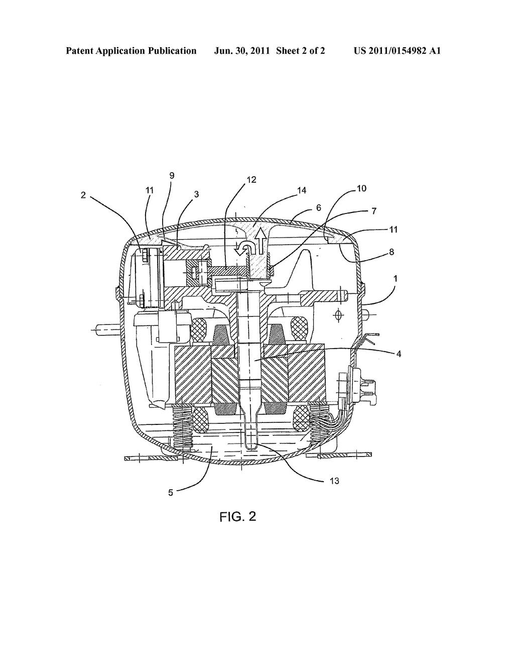 refrigerator compressor schematic