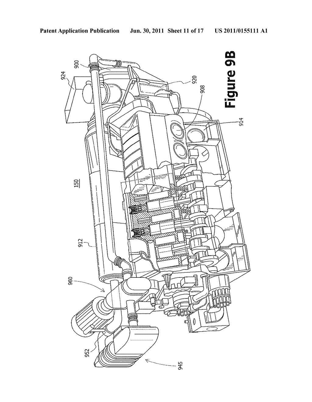 Exhaust Gas Recirculation System For A Locomotive Two Stroke Uniflow 2 Diesel Engine Diagram Scavenged Schematic And Image 12