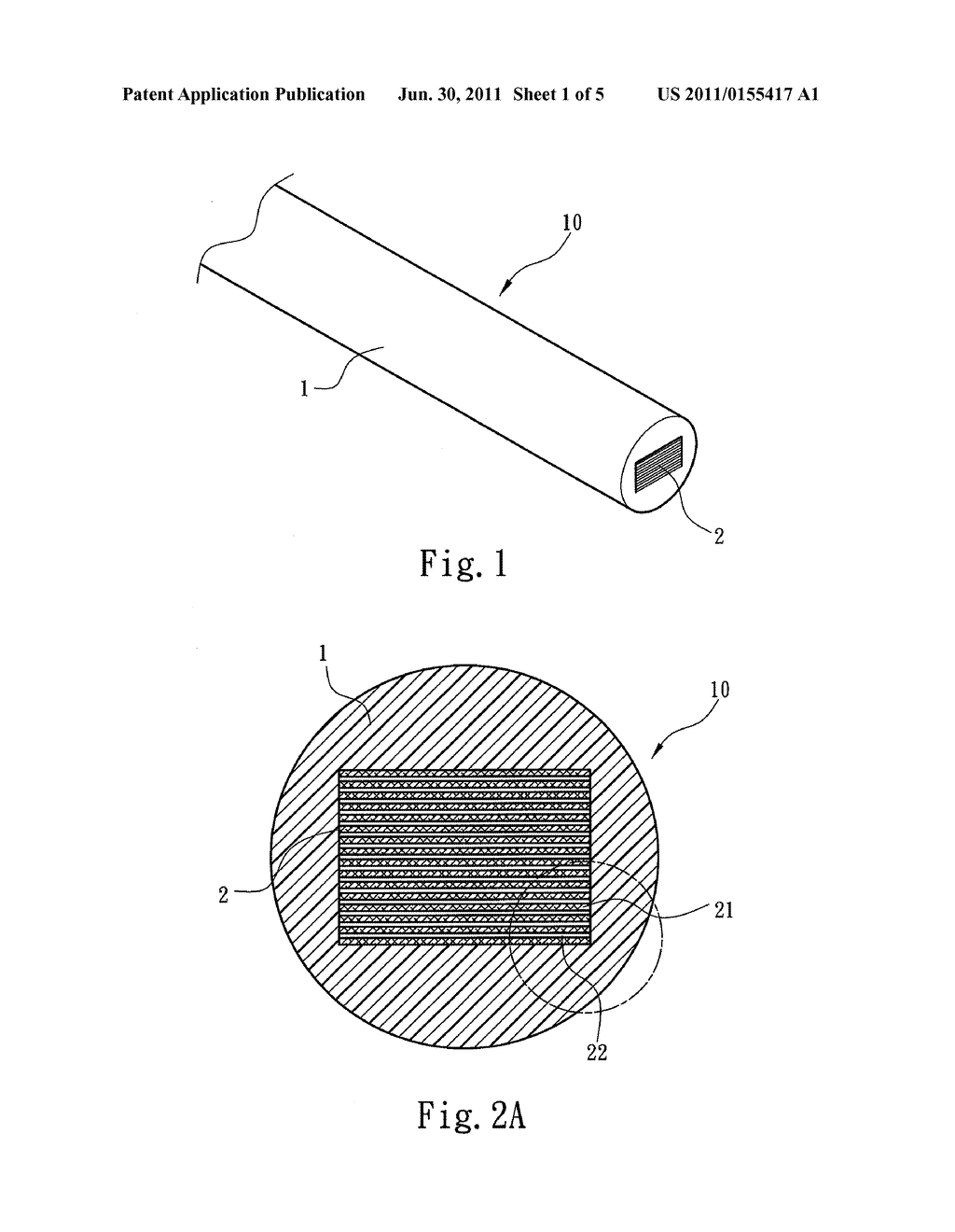 CONDUCTING WIRE STRUCTURE AND METHOD OF MANUFACTURING A CONDUCTING WIRE  CORE - diagram, schematic, and image 02Patents
