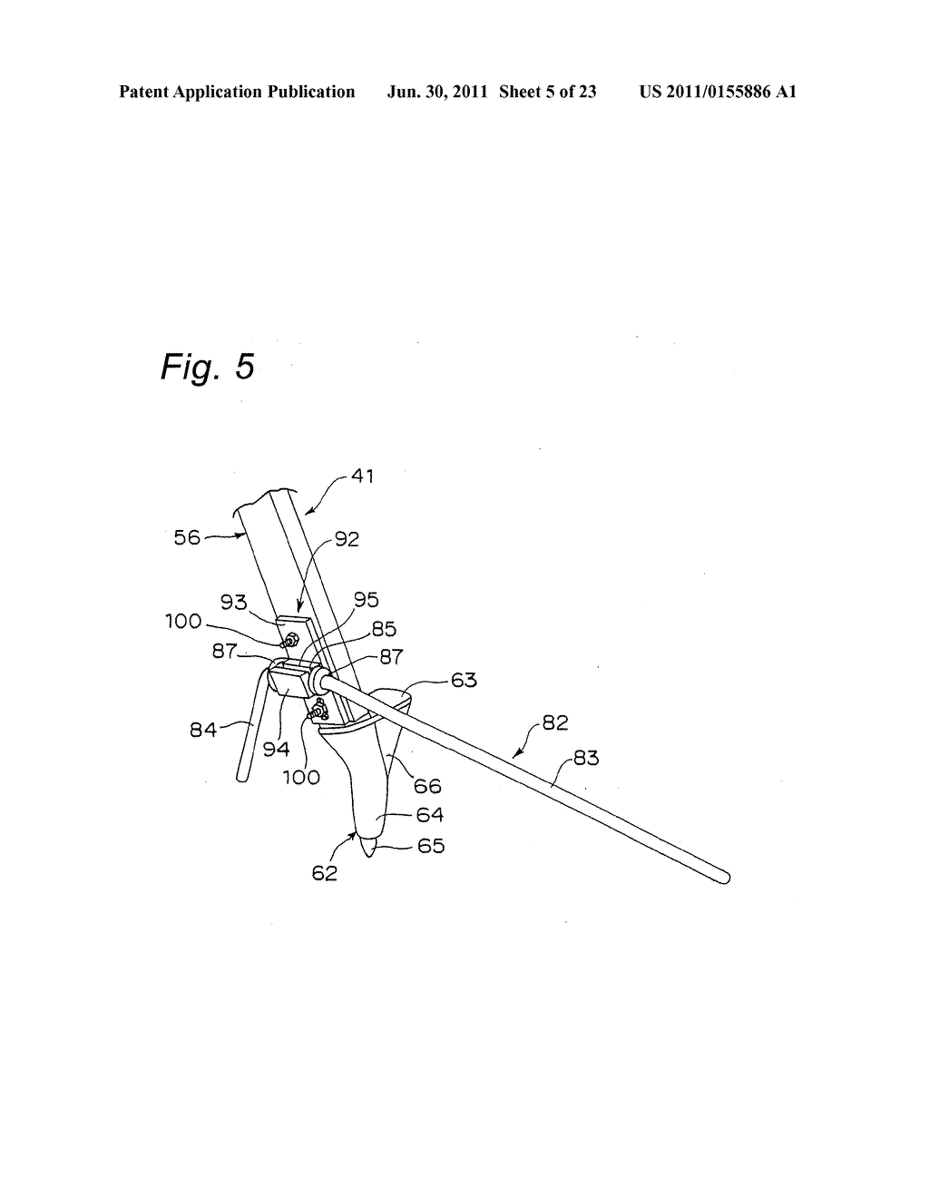 TRIPOD-SUPPORTING DEVICE, TRIPOD, SUPPORT MEMBER FOR TRIPOD AND METHOD FOR     SUPPORTING TRIPOD - diagram, schematic, and image 06