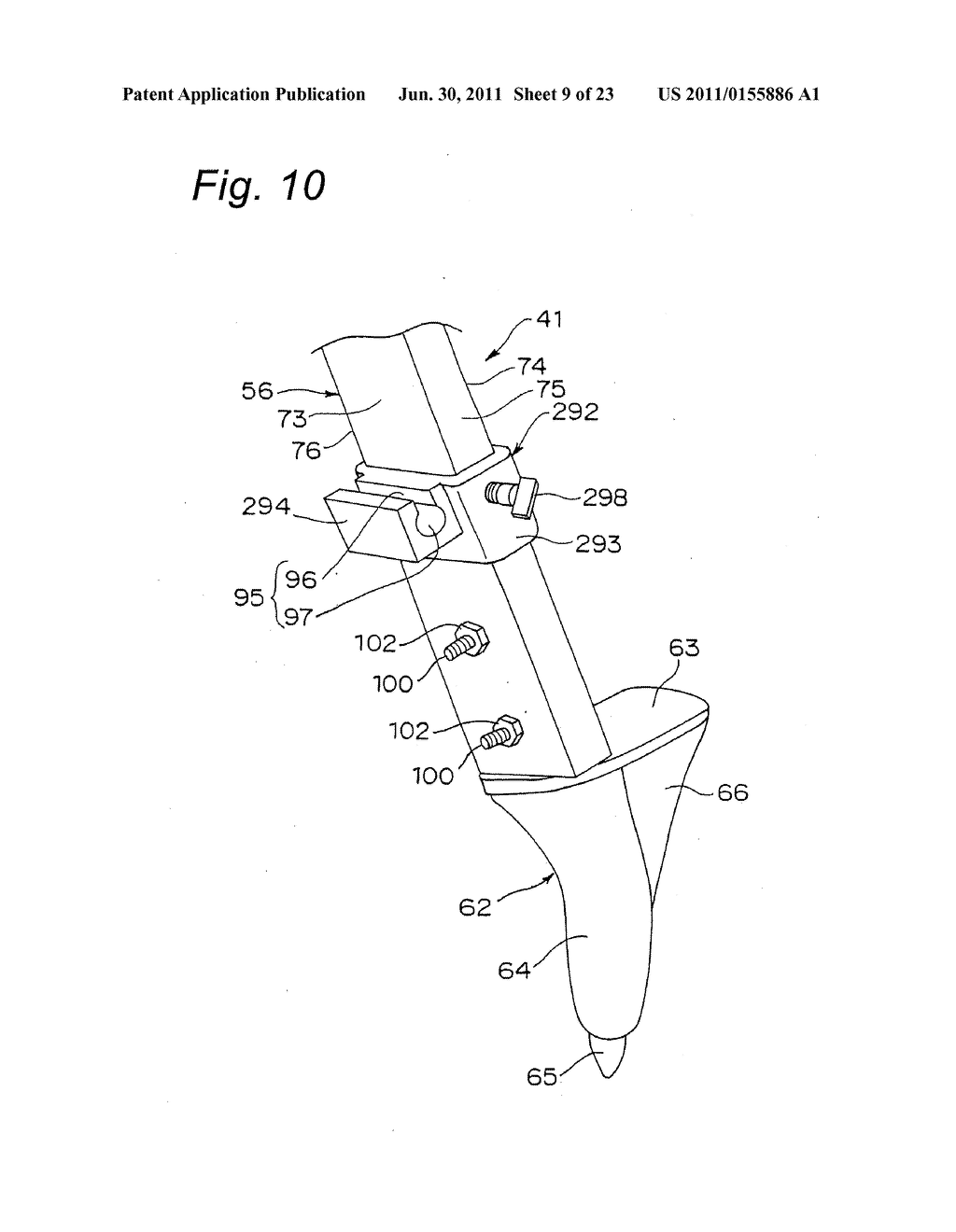 TRIPOD-SUPPORTING DEVICE, TRIPOD, SUPPORT MEMBER FOR TRIPOD AND METHOD FOR     SUPPORTING TRIPOD - diagram, schematic, and image 10