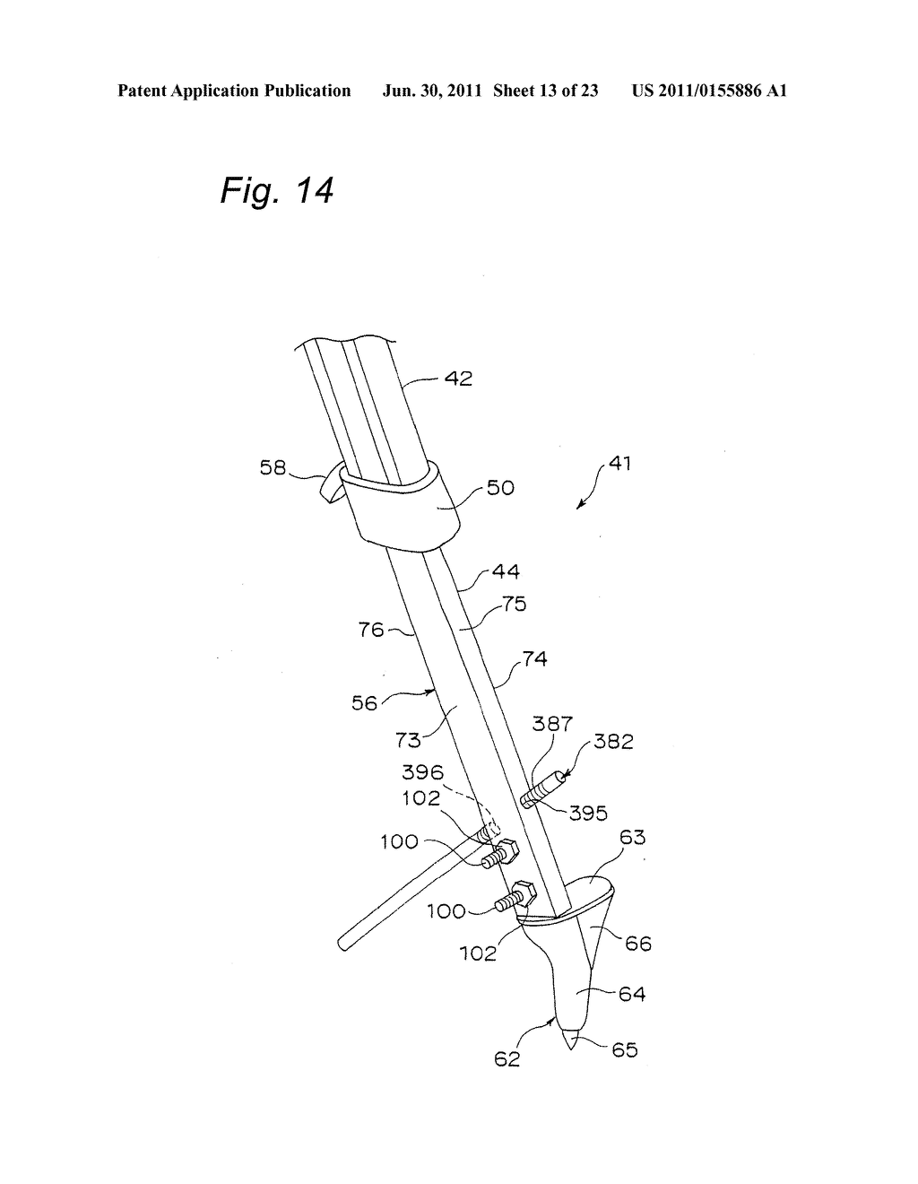 TRIPOD-SUPPORTING DEVICE, TRIPOD, SUPPORT MEMBER FOR TRIPOD AND METHOD FOR     SUPPORTING TRIPOD - diagram, schematic, and image 14