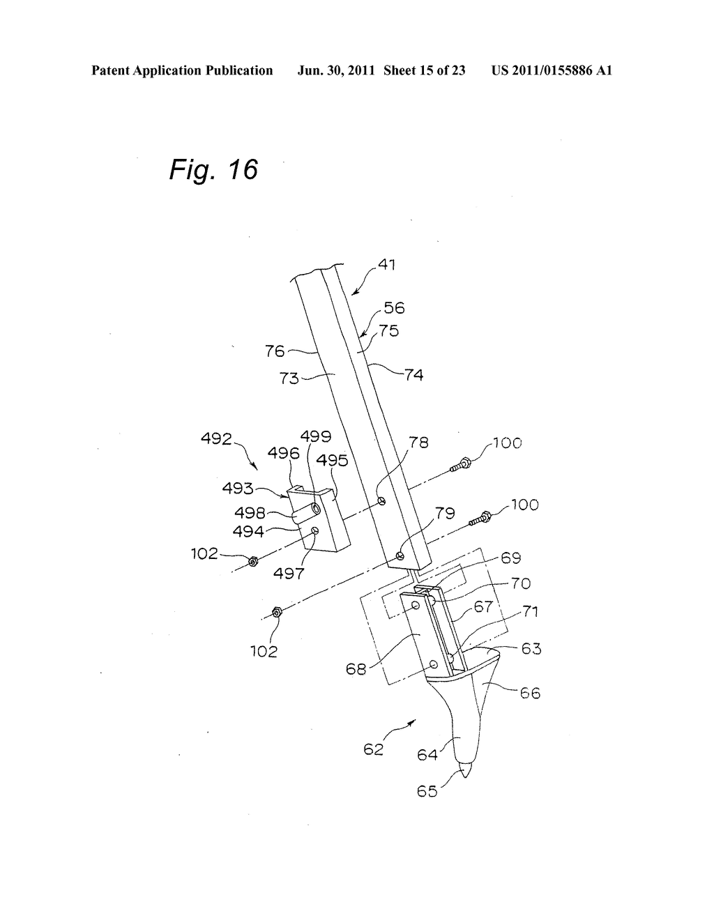 TRIPOD-SUPPORTING DEVICE, TRIPOD, SUPPORT MEMBER FOR TRIPOD AND METHOD FOR     SUPPORTING TRIPOD - diagram, schematic, and image 16