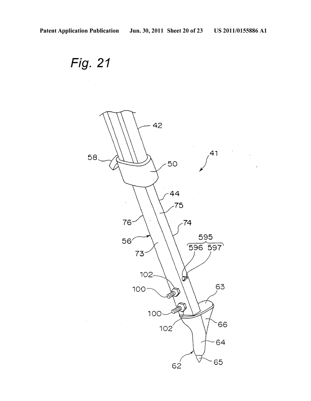 TRIPOD-SUPPORTING DEVICE, TRIPOD, SUPPORT MEMBER FOR TRIPOD AND METHOD FOR     SUPPORTING TRIPOD - diagram, schematic, and image 21