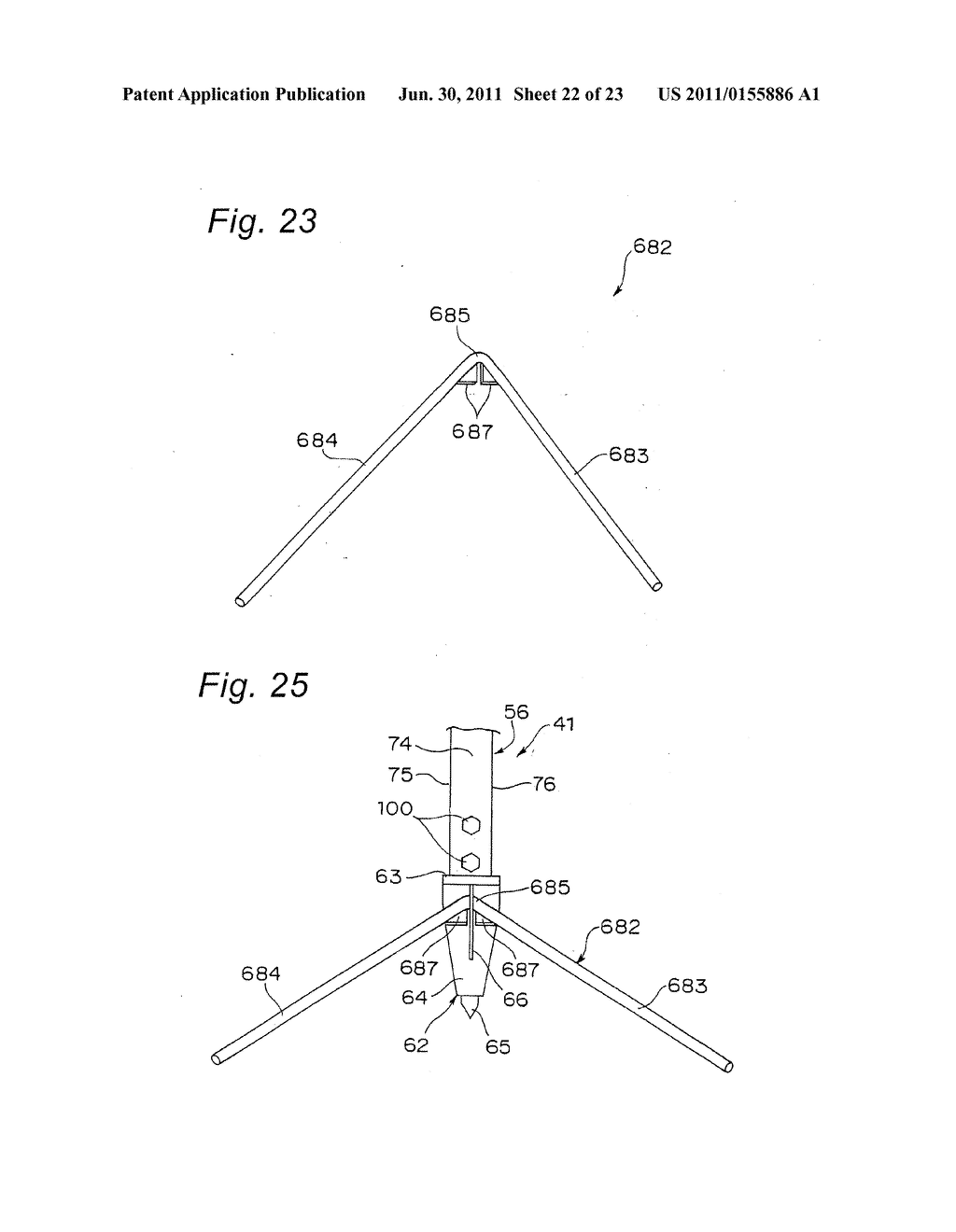 TRIPOD-SUPPORTING DEVICE, TRIPOD, SUPPORT MEMBER FOR TRIPOD AND METHOD FOR     SUPPORTING TRIPOD - diagram, schematic, and image 23